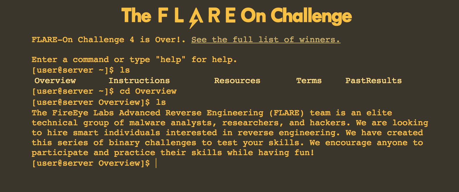 Flare-On 4 CTF write-up (part 1)