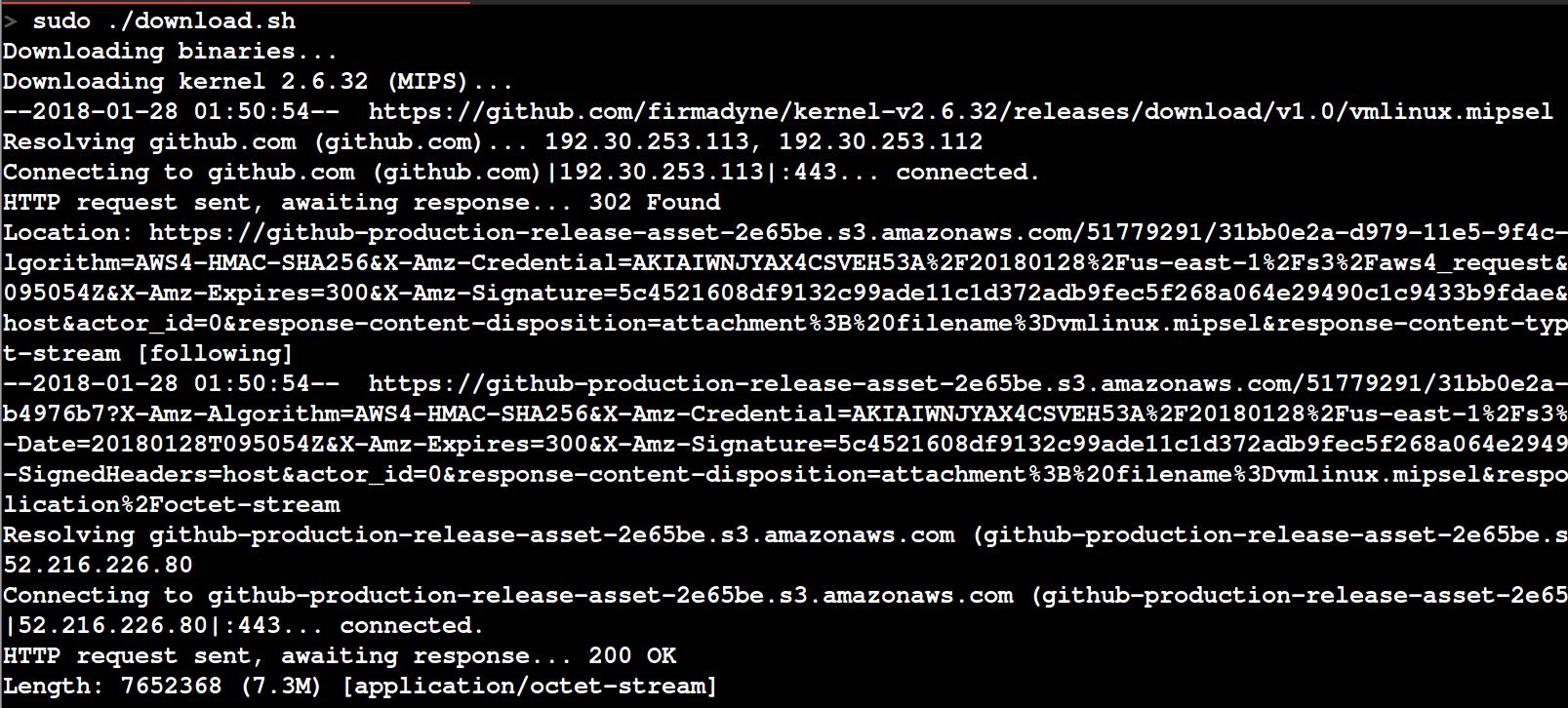 firmadyne-downloading-additional-binaries