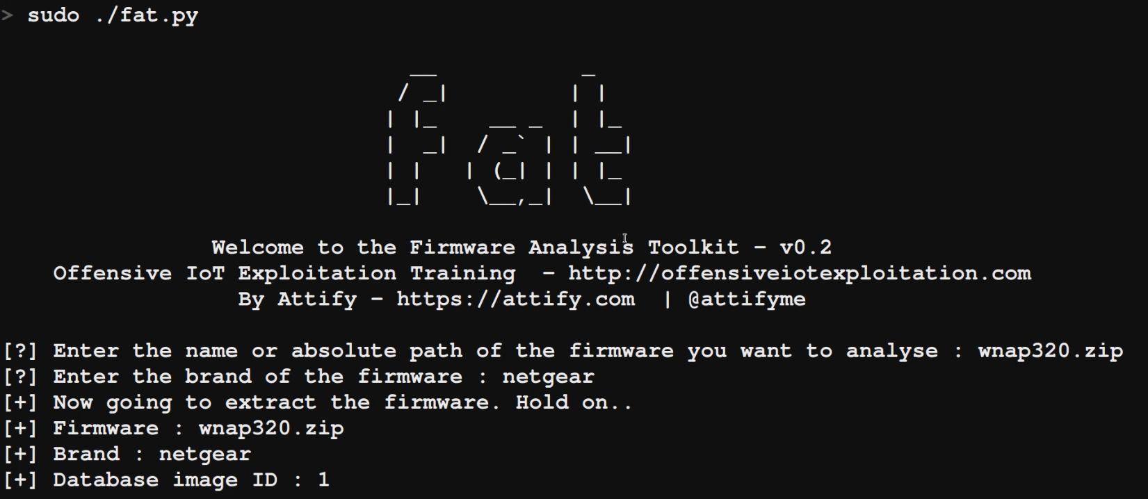 running-firmware-analysis-toolkit