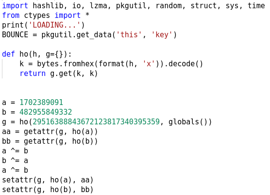 Figure 8: The main code