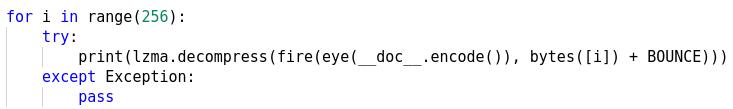 Figure 10: In a loop!