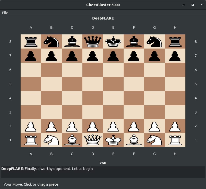 Figure 1: A game of chess