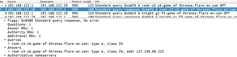 Figure 4: DNS response