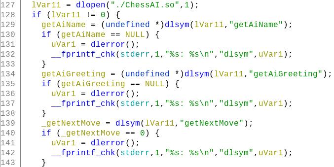 Figure 6: ChessUI loads ChessAI