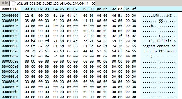 Figure 22: shellcode driver