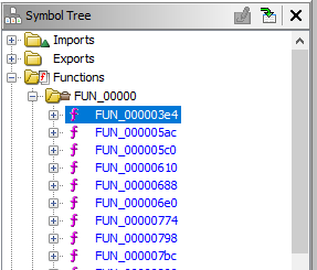 The symbol tree